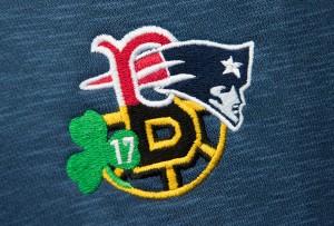 boston teams embroidery logo